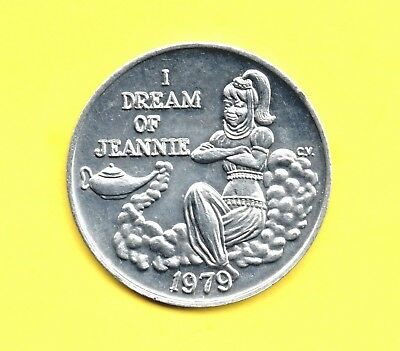 I Dream of Jeannie Token ~ 1979 - Bewitched - Genie in the Lamp Coin