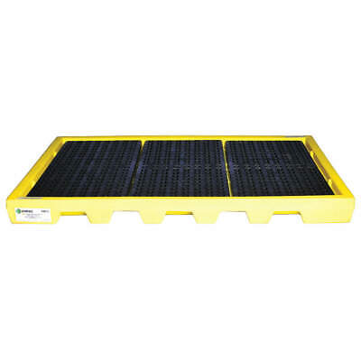 ENPAC Drum Spill Containment Pallet,61gal,Yllw, 5115-YE, Yellow
