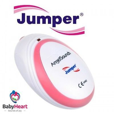 Jumper  Angelsounds Baby Fetal Doppler Baby  Heart Beat Monitor portable mini