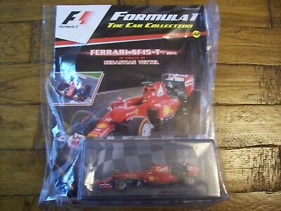 Formula 1 The Car Collection Part 42 Ferrari SF15-T 2015 Sebastian Vettel