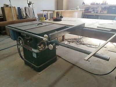 "Estate Sale 8 of 13 1980 POWERMATIC HOUDAILLE 10"" TABLE SAW, Model 66"
