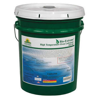 RENEWABLE LUBRICANTS Oven/Chain Lube,Bio-Extreme HT 68,5 Gal, 81854