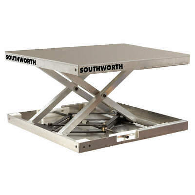 SOUTHWORTH Scissor Lift Table,300 lb.,23 In. L, LSJ03-13.5