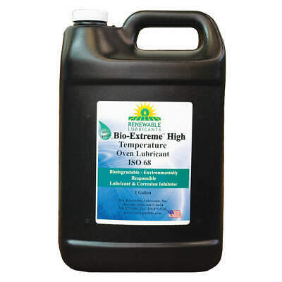 RENEWABLE LUBRICANTS Oven/Chain Lube,Bio-Extreme HT 68,1 Gal, 81853