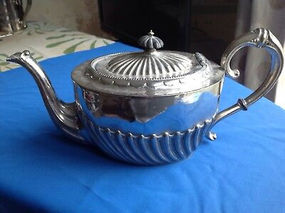 Vintage Or Antique Silver Plated Teapot Marked 'D&A 9686'