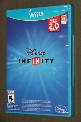 DISNEY INFINITY 2.0 NINTENDO WII U ViDEO GAME ONLY DISC SEALED BRAND NEW