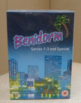 Benidorm: Series 1-3 and the Special (Box Set) [DVD] New Sealed