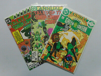 Tales of the Green Lantern Corps Annual (1985) Set:#1-3, 8.0/VF, (1985-87)