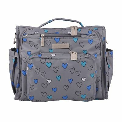 Ju Ju Be BFF Baby Diaper Bag Backpack w/ Changing Pad  Rad Hearts Very limited