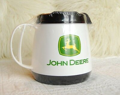 Large Wide Body John Deere Insulated THERMOSERV Travel Mug Tumbler 20oz