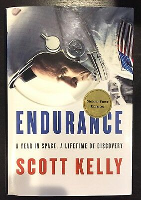 Scott Kelly - Endurance - 1St Edition - Signed - With Broadart Protective Jacket