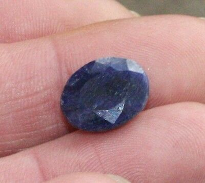 NOW ONLY £5 !!!! (WAS £10). Superb 11 carat Sapphire. Ring sized.