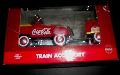 coca cola pedal car and trailer