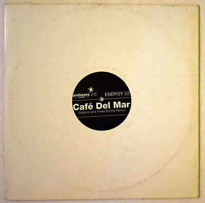 Energy 52 - Cafe del Mar (Original and Three´N One Remix) Vinyl / Schallplatte