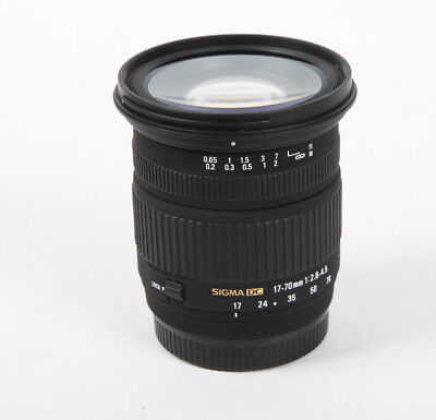 Sigma DC 17-70 mm F/2.8-4.5 Zoom for Sony Alpha A-Mount