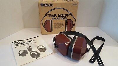 E.A.R. Muff Model 3000 Nose Reduction Earmuff 26 Decibels Hearing Protection