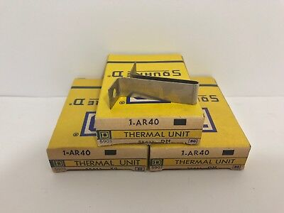 (3) New! Square D Overload Relay Thermal Units Ar40