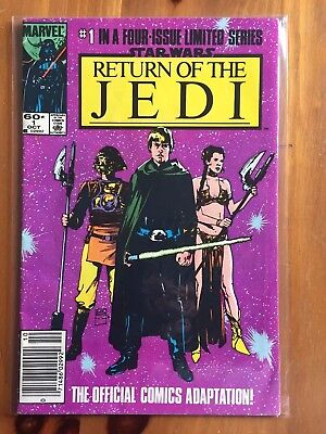 Star Wars: Return of the Jedi Limited Series #1 #2 #3 #4 (1983/1984, Marvel)