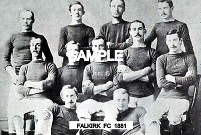 Falkirk FC 1881 Team Photo