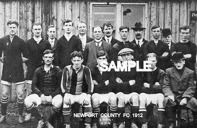 Newport County FC 1912 Team Photo