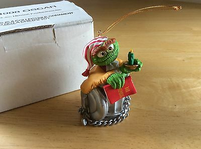 Jim Henson Christmas Tree Ornament - 1993 Oscar Very Cute FREE SHIPPING