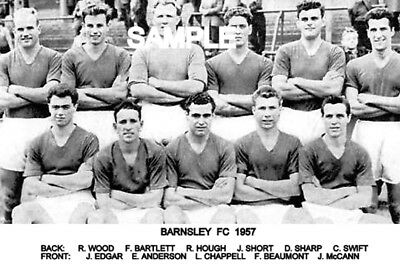 Barnsley FC 1957 Team Photo