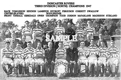 Doncaster Rovers FC 1947 Team Photo