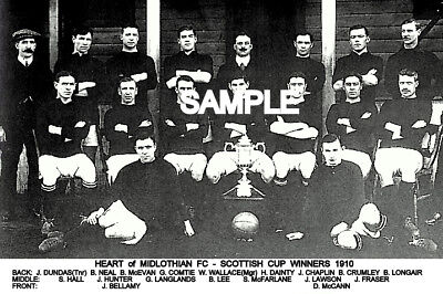 Heart of Midlothian FC 1910 Cup Team Photo