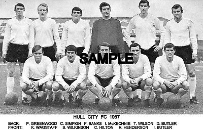 Hull City FC 1967 Team Photo