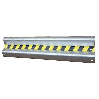 GRAINGER APPROVED Steel Impact Resistant Guard Rail, 21XL94, Silver