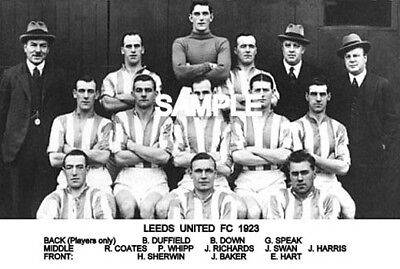 Leeds Utd FC 1923 Team Photo