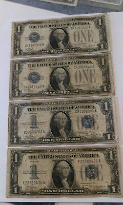 Funny Backs 1928 -1934 United States Silver Certificates Way Below Wholesale !!