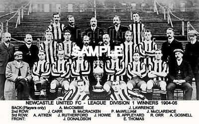 Newcastle Utd FC 1904-5  Team Photo