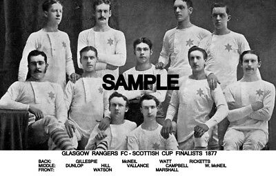 Rangers FC 1877  Team Photo