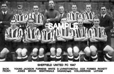 Sheffield Utd FC 1947  Team Photo