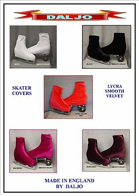 Ice Skating / Roller Skating  Lycra Smooth Velvet Boot Covers 2