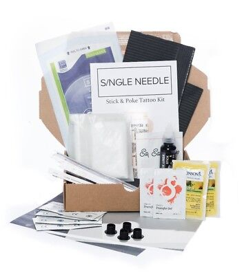 Single Needle - Hand Poke DOUBLE Tattoo Kit