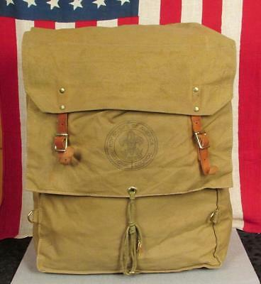 Vintage Boy Scouts of America Official Yucca Pack No.574 Backpack Day Pack #2