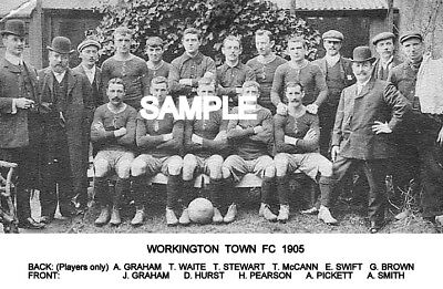 Workington Town FC 1905  Team Photo