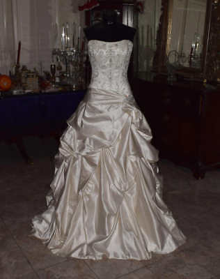 MAGGIE SOTTERO Bridal Gown Wedding Dress Size 10 Ball Gown