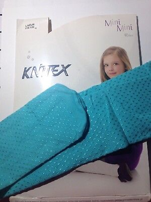 KNITTEX -GIRLS PATTERNED TIGHTS -40 DEN-SIZE-Age 4-5