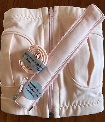 Simple Wishes Hands Free Breast Pump Bra Fits (XS-L) ADJUSTABLE SIZING (pink)
