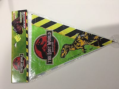 The Lost World Jurassic Park Party Banner NIP