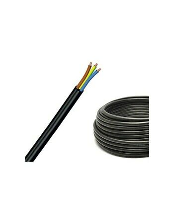 Cable PVC 3G1,50 H07VV-F Black