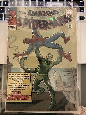 Amazing Spider Man 20 First Scorpion