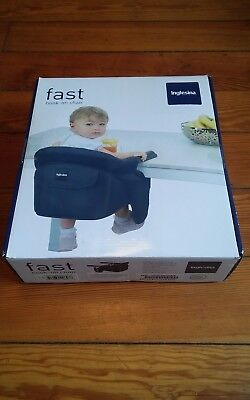 Inglesina fast hook on chair, high chair, New in box, color is cream