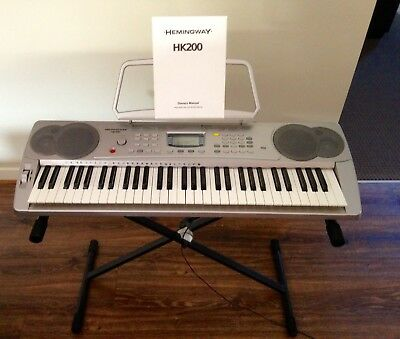 Hemingway HK200 Keyboard, Manual And Stand