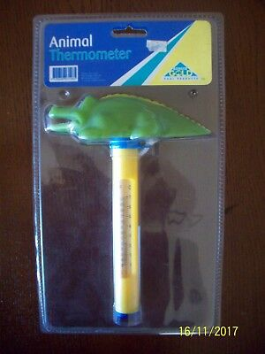Crocodile Floating Pool or Spa Thermometer