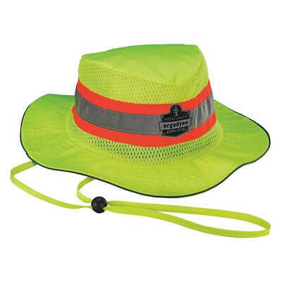 CHILL-ITS BY ERGODYNE Polyester Evaporative Cooling Ranger Hat, 8935MF, Lime