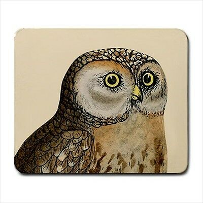 New Vintage Owl Large Mousepad PC Mouse Pad free shipping